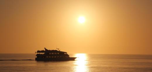 Sun and Yacht