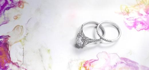 L'amour Diamond Engagement Ring