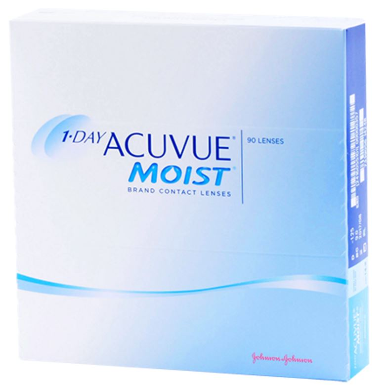1 day Acuvue Moist Daily Wear Contact Lenses