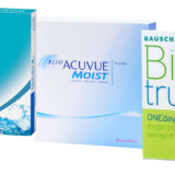 3 Brands Daily Wear Contact Lenses
