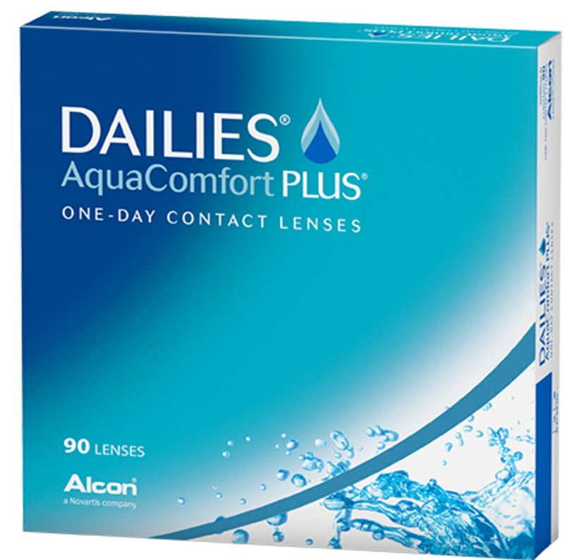 Dailies Aquacomfort Plus Daily Wear Contact Lenses