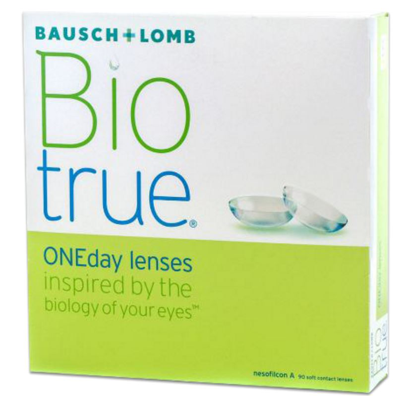 Biotrue ONEday daily wear contact lenses