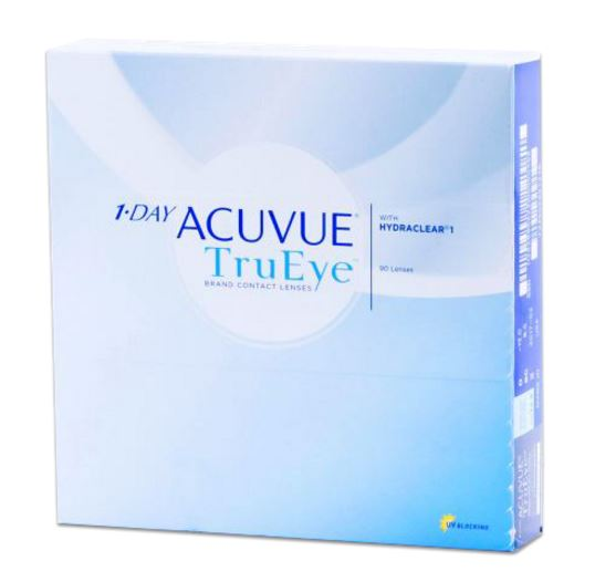 Acuvue TruEye 1-Day contact box