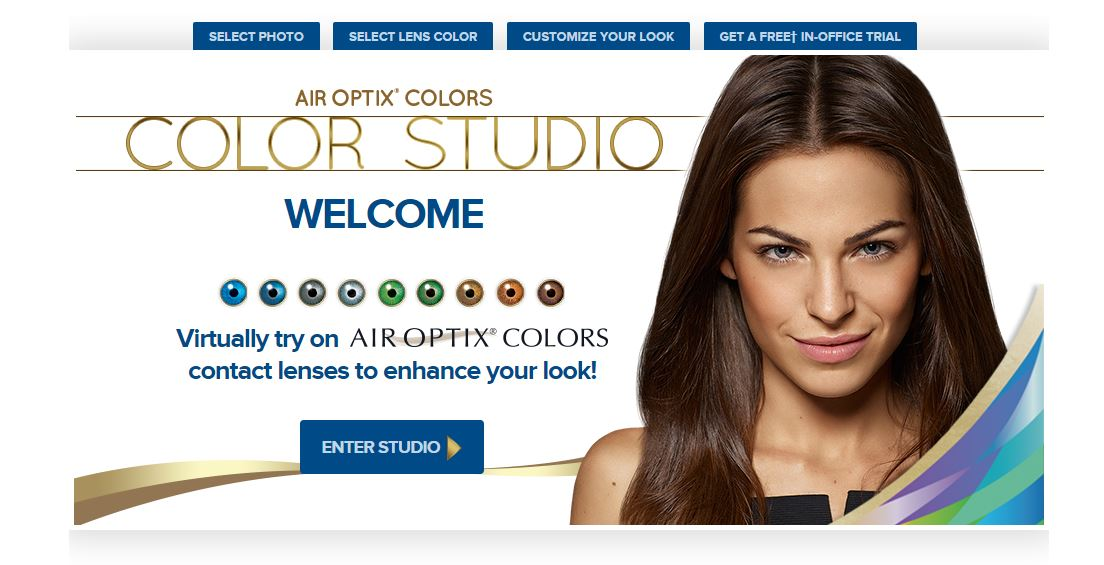 Air Optix Colors Color Studio