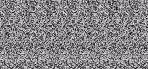 Magic Eye Optical Illusion